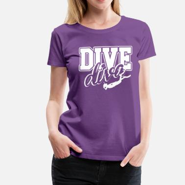 Diving Girl Diving Girl - Women's Premium T-Shirt