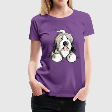 Happy Bearded Collie - Frauen Premium T-Shirt