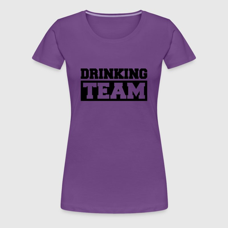Drinking Team Logo - Women's Premium T-Shirt
