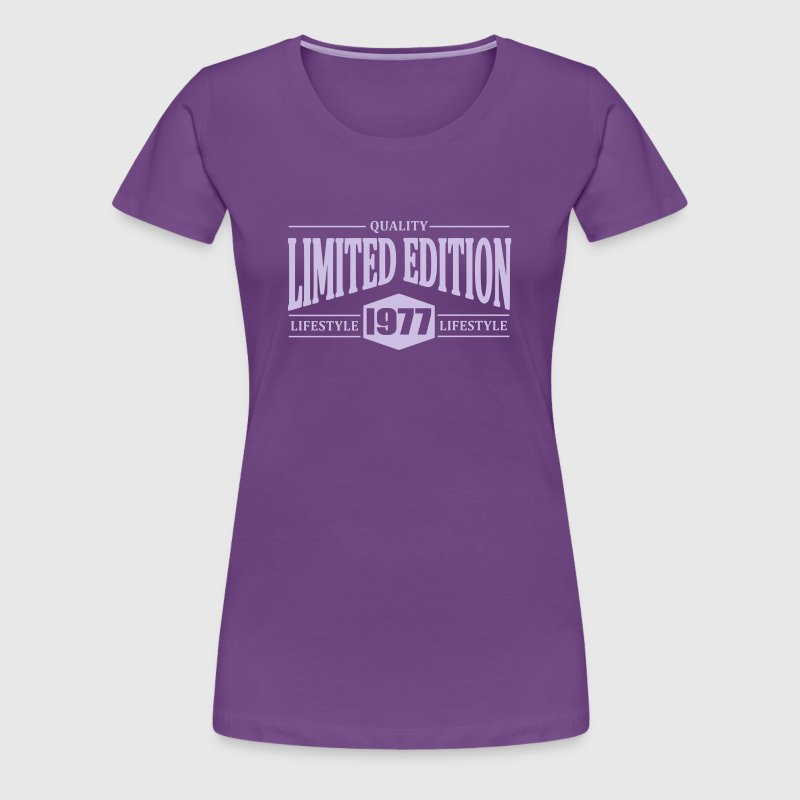 Limited Edition 1977 - Women's Premium T-Shirt