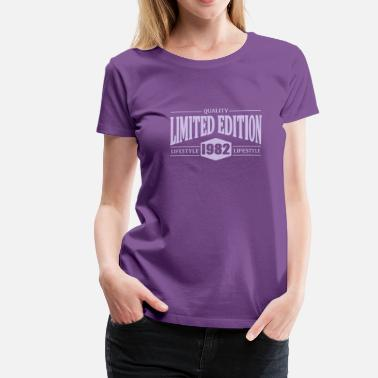 Edition Limited Edition 1982 - Women's Premium T-Shirt