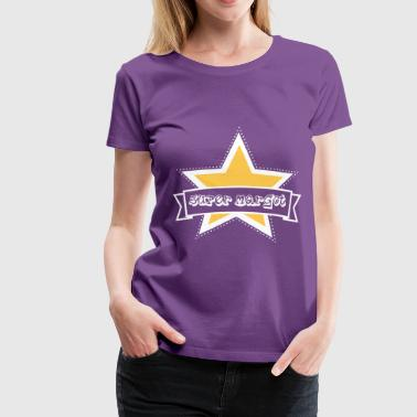 super margot étoile star - T-shirt Premium Femme