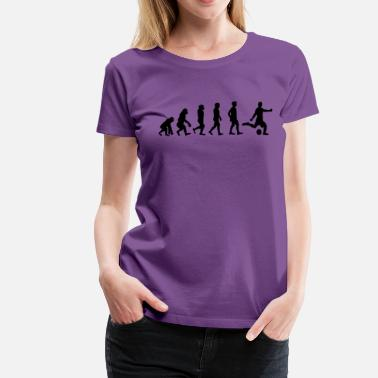 Football Evolution Evolution football - Women's Premium T-Shirt