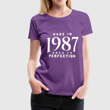 Made In 1987 MADE IN 1987 - Women's Premium T-Shirt