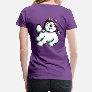 Sabaka Happy Samoyed - Women's Premium T-Shirt
