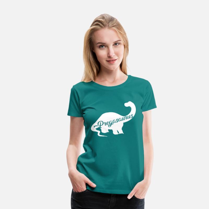 b11fc652 Pregasaurus Women's Premium T-Shirt | Spreadshirt