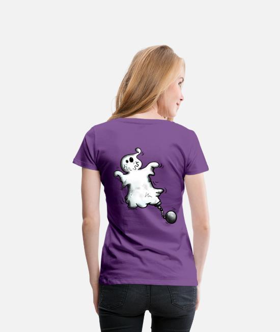 Morsom spøkelse Premium T skjorte for kvinner | Spreadshirt