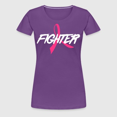 Fighter Ribbon - Women's Premium T-Shirt