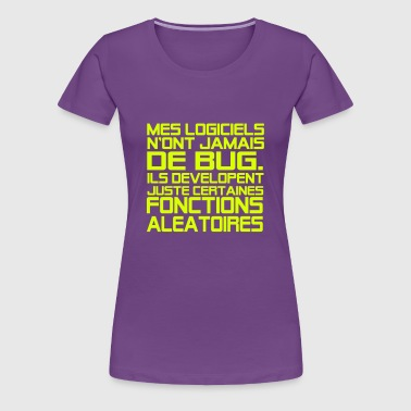 citations geek - T-shirt Premium Femme