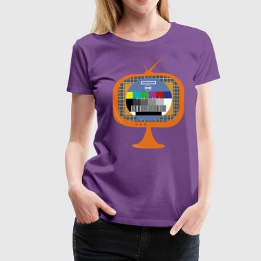 In the Zone TV colours template - Camiseta premium mujer