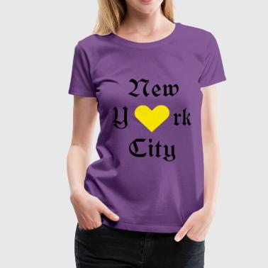 New York, New York, York, New York, by, - Premium T-skjorte for kvinner