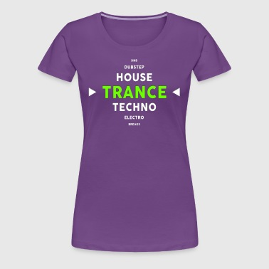 Trance & Genre Diamond - Women's Premium T-Shirt