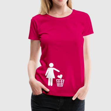 Single - Singles - Vrouwen Premium T-shirt