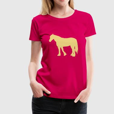 cold-blooded horse - Women's Premium T-Shirt