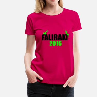 Greece Music Rhodes Faliraki Greece Holiday sexy - Women's Premium T-Shirt