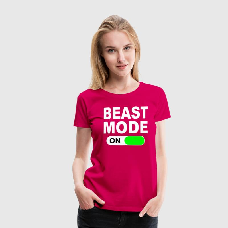 BEAST MODE ON - Women's Premium T-Shirt