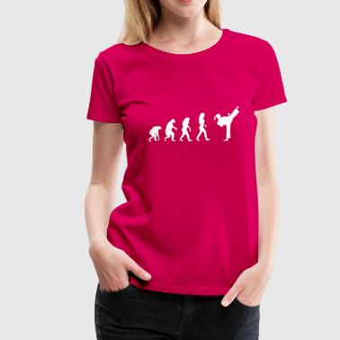 fight evolution frauen - Frauen Premium T-Shirt
