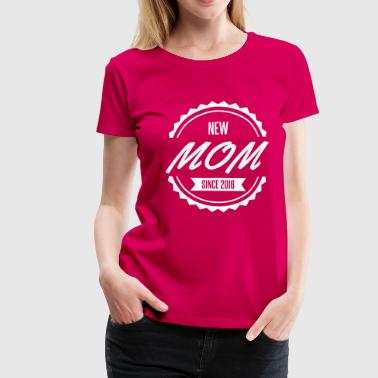 new mom since 2016 - Women's Premium T-Shirt