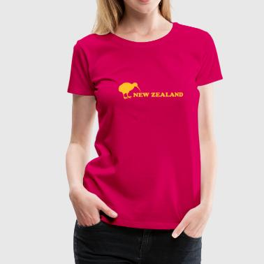 neuseeland - new zealand - kiwi - Frauen Premium T-Shirt