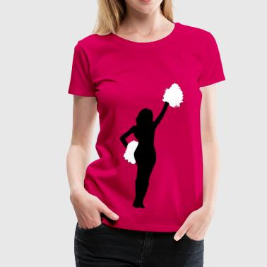 Cheerleader - Premium-T-shirt dam