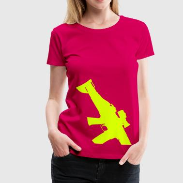 FN SCAR Assault Rifle - Women's Premium T-Shirt