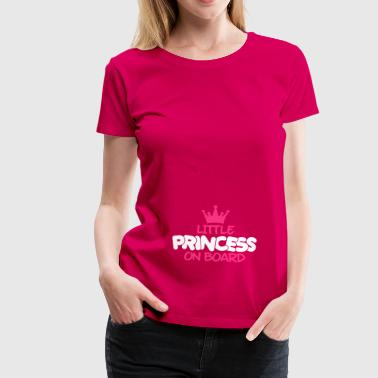 little princess on board - Frauen Premium T-Shirt