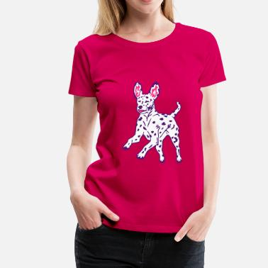 Dalmatian Dog Puppy - Frauen Premium T-Shirt