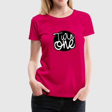 Twin One - Frauen Premium T-Shirt