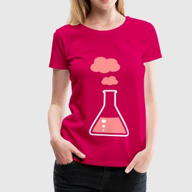 Erlenmeyer fiole - chimie - T-shirt Premium Femme