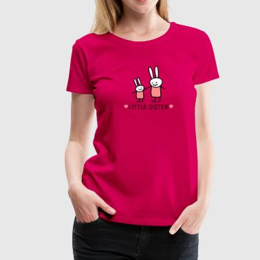 little Sster /rabbits) - Women's Premium T-Shirt