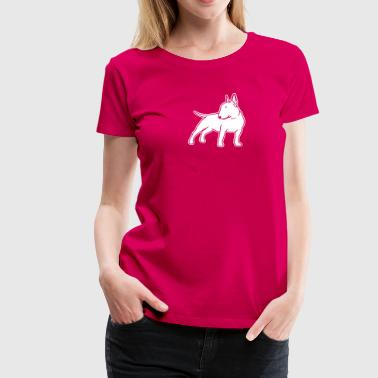 Bull Terrier cn_single_1c_4dark - Women's Premium T-Shirt