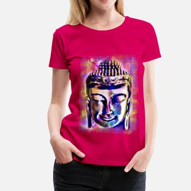 Edda THAI BUDDHA color - Women's Premium T-Shirt