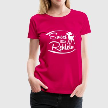 SWEET LITTLE REHLEIN - Frauen Premium T-Shirt