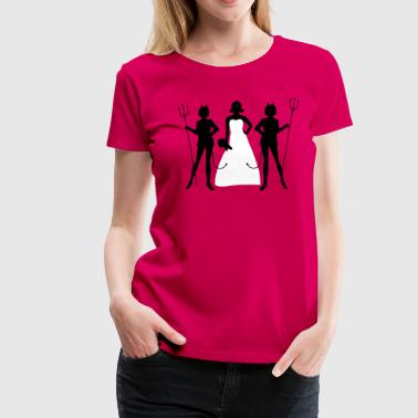 Bride Security - Vrouwen Premium T-shirt