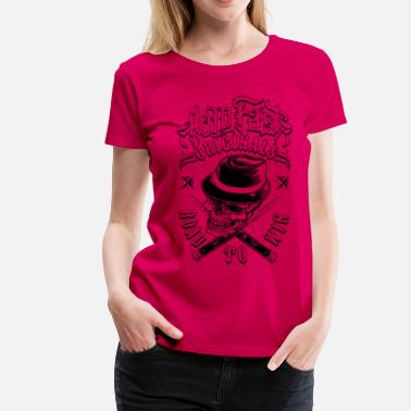 Tatoo Road To Win - Frauen Premium T-Shirt