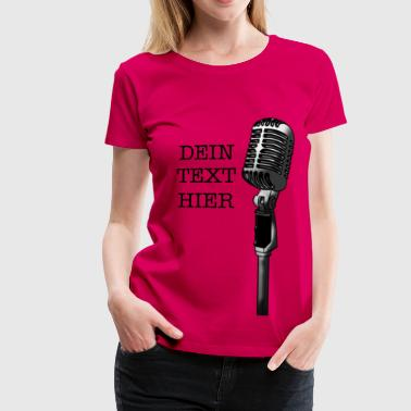 Master of ceremonies - Women's Premium T-Shirt