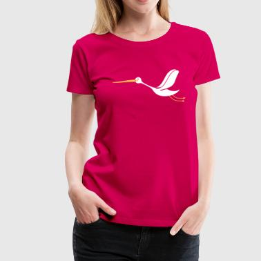 Storch - Frauen Premium T-Shirt