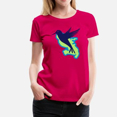 Martinique Colibri La Martinique colibri - T-shirt Premium Femme