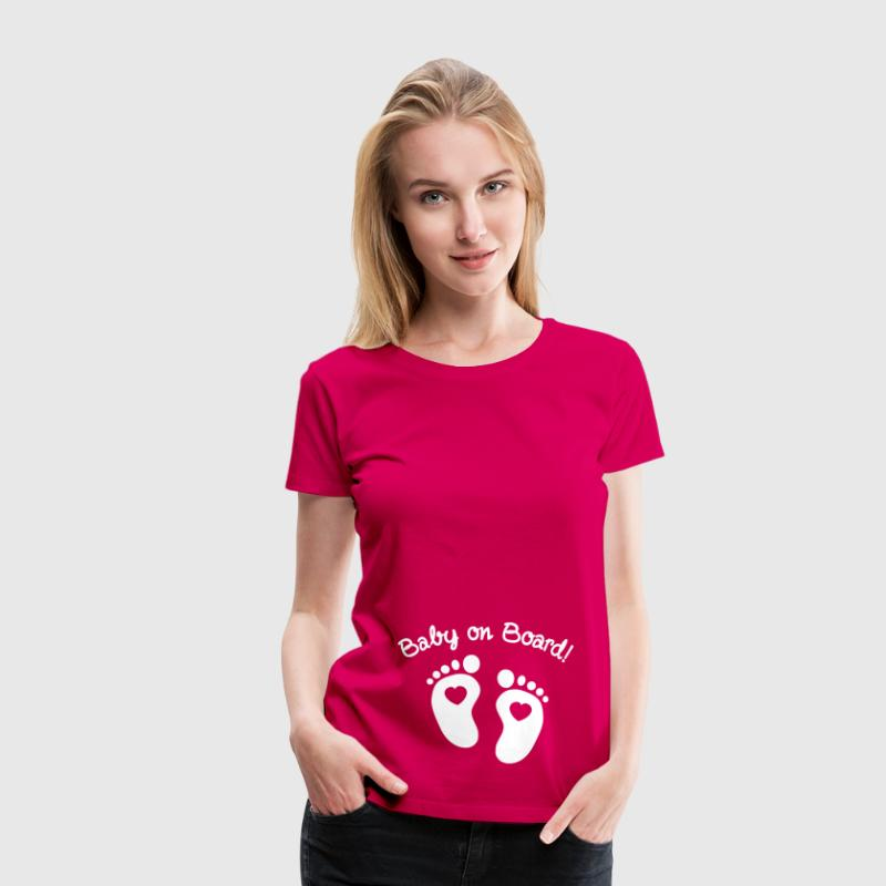 baby on board - Women's Premium T-Shirt