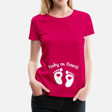 Baby On Board baby on board - Women's Premium T-Shirt