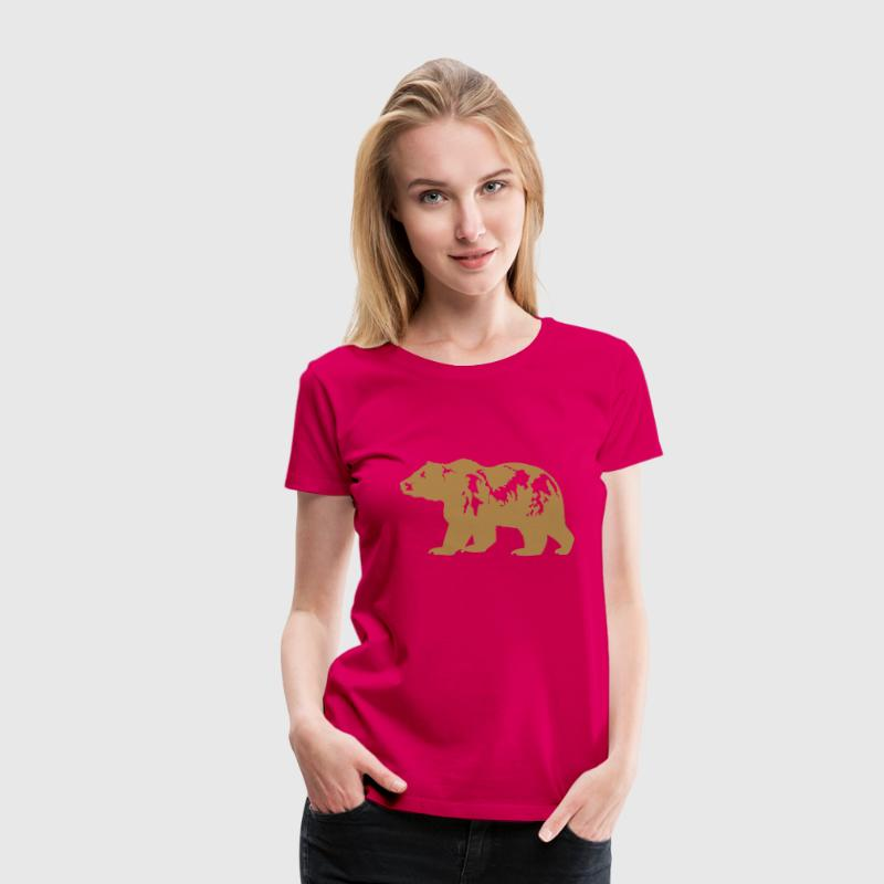 grizzly - Dame premium T-shirt