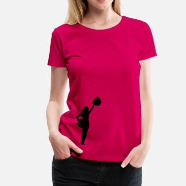 Girls Cheerleading Cheerleader - Women's Premium T-Shirt