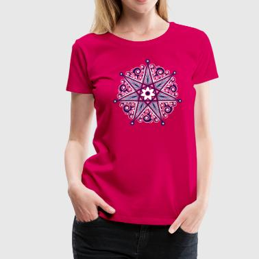 Elven Star, Perfection & Protection, Heptagram,  - Women's Premium T-Shirt