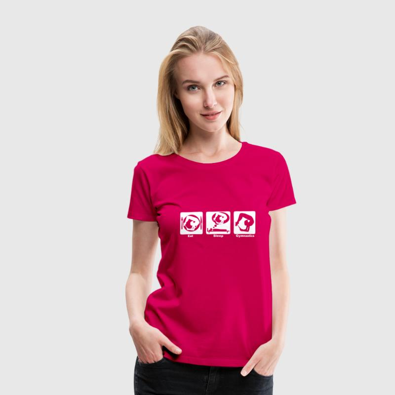 gymnastique grs eat sleep play6 - Women's Premium T-Shirt