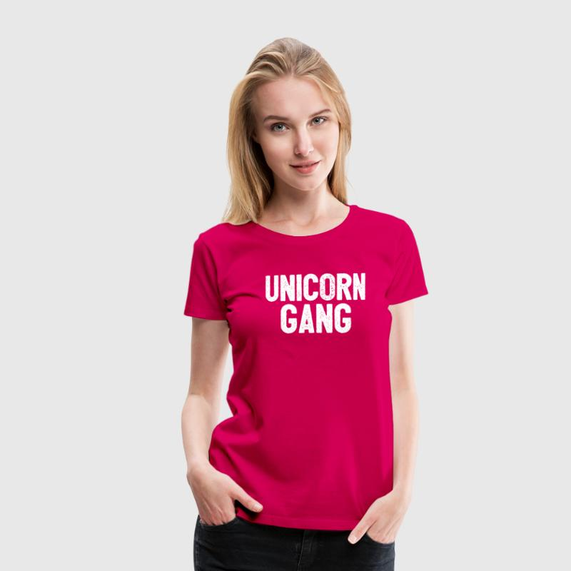 transition Unicorn - T-shirt Premium Femme