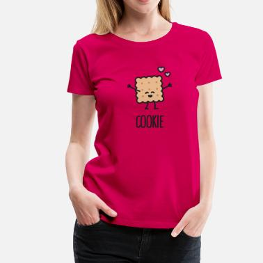 Blonde Brune Cookie - Best friends forever (BFF) - T-shirt Premium Femme