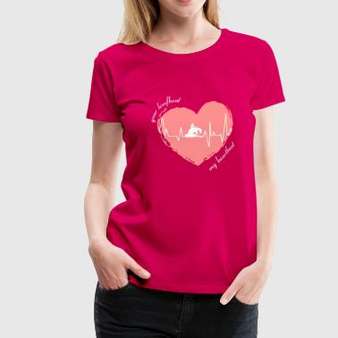 your_hoofbeat_my_heartbeat_slider - Vrouwen Premium T-shirt