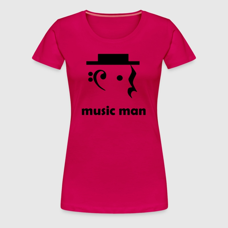 music man - Women's Premium T-Shirt