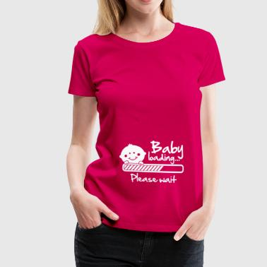 Baby loading - please wait - Women's Premium T-Shirt
