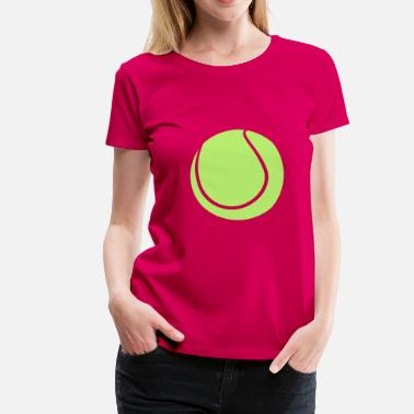 Tennis Ball Tennis Ball - Women's Premium T-Shirt